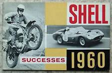 SHELL MOTOR SPORT Successes Achievements Records 1960 FORMULA 1 Manx GP RALLY
