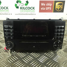 MERCEDES W203 C CLASS STEREO CD PLAYER HEAD UNIT 2004  A2098202689