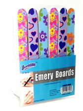 "Wholesale Lot of 48 7"" Emery Boards On Counter Display Retail Ready Cheap New"