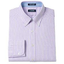 New Chaps by Ralph Lauren Men's Oxford Button-Down Collar Dress Shirt MSRP $45
