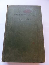 MR. BRITLING SEES IT THROUGH, H.G. WELLS,  1916 FIRST EDITION