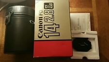Canon FD 14mm F/2.8L - Brand New & Fully Boxed - Very Rare-