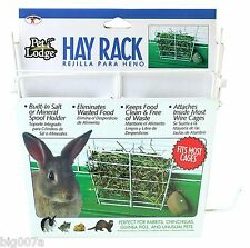 Wire Hay Rack for Rabbits, Chinchillas, Guinea Pigs, and Unusual Pets. Free ship