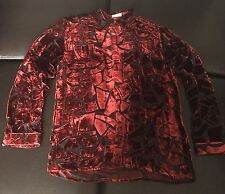 Very Rare Gianni Versace Silk/Velvet Shirt
