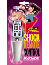 SHOCK REMOTE CONTROL POWERFUL HARMLESS ELECTRIC ZAP GAG JOKE NOVELTY TRICK MAGIC
