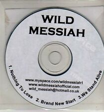 (CJ294) Wild Messiah, Nothing to Lose - DJ CD