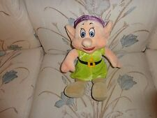 AUTHENTIC DISNEY STORE  DOPEY  IN THE  SEVEN  DWARFS LARGE BEAN BAG DOLL