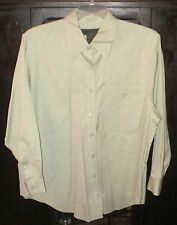 JONES JEANS Button Up Front Shirt~18W~100% Cotton~Light Mint Green~3/4 Sleeve