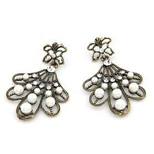 Maple Leaf Pearl Earring Jewelry making supplies Wholesale china Fashion