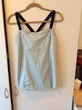 Lululemon Run: Catch Me Tank Caspian Light Blue Sz 12