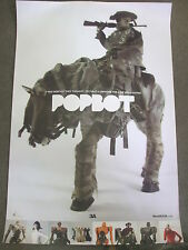 "Toy Fair Exclusive ThreeA ASHLEY WOOD - POPBOT - 36"" x 23¾"" Poster Print - NICE"