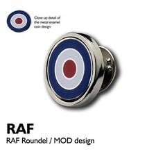 RAF Roundel Lapel Pin Badge Royal Airforce Pilot Plane Military Birthday Present