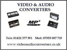 We Convert Transfer VHS C 8mm Hi8 Digital 8 MiniDV Video Tape to CD DVD MP4 MP2