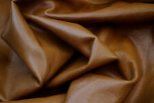 Leather Upholstery Cow Hide COPPER PENNY DISTRESS #3