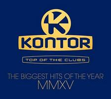 Kontor Top Of The Clubs - Biggest Hits Of MMXV 2015 - Various - 3 CD - Neu / OVP