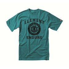 ELEMENT ROOTS LAGOON SIZE X-LARGE MENS ORGANIC COTTON SKATE T-SHIRT NEW