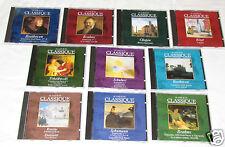AU COEUR DU CLASSIQUE (Great Composers) 10 CD SET COLLECTION Classical BRAHMS+