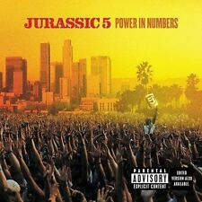 Power in Numbers [PA] by Jurassic 5 (CD, Oct-2002, Interscope BMG D145845 NEW