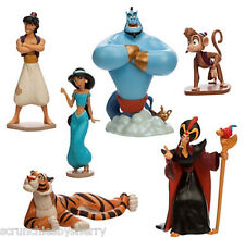 Disney Store Aladdin Jasmine Play Set Figure Cake Toppers New