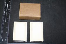Cards Disguised as Books Leather Covers 2 Decks Playing Cards Sealed Tax Stamp