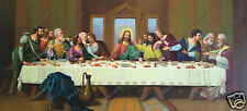 The Last Supper Oil Painting Master Art Hand-Painted Leonardo Da Vinci on Canvas
