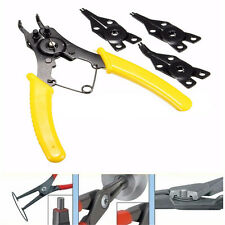 4in1 Snap Ring Pliers Plier Hand Tool Set Circlip Combination Retaining Clip NB