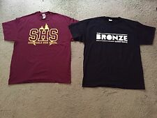 Buffy The Vampire Slayer Tv Show Themed T-Shirts Set Of 2 Adult XL NEW