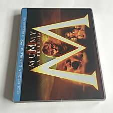 The Mummy Trilogy Blu-Ray Steelbook [Spain] Region Free! ONLY ONE ON EBAY! RARE!