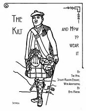 THE KILT AND HOW TO WEAR IT - Scottish Highland dress