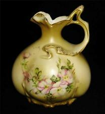Hand Painted Nippon (Repro) WILDFLOWER Ewer or Vase