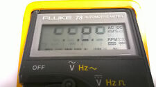 Fluke 78 Display Repair Kit for Faded LCD How To Instructions