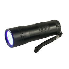 UV Black 12-Light Cat Dog Urine Stain Detector Flashlight