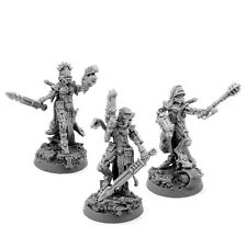 28mm scale MECHANIC ADEPT FEMALE SAGITARIUS SERGEANTS
