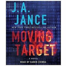 MOVING TARGET unabridged audio book on CD by J.A. JANCE