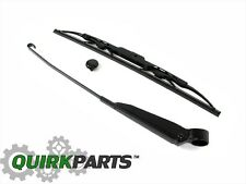 99-03 DODGE DURANGO REAR LIFTGATE WIPER ARM BLADE & CAP KIT NEW MOPAR GENUINE