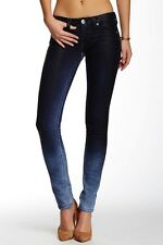 True religion Skinny Premium Basic Blue Coated Jeans sz.26 $262 NWT