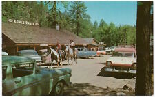 Postcard Kohl's Tonto Creek Ranch Bar & Cafe in Payson, Arizona~106461