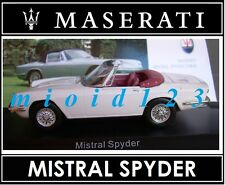 1/43 - Maserati 100 Years Collection : MISTRAL SPYDER [ 1964 ] - Die-cast