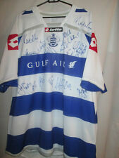 Queens Park Rangers QPR 09-10 Squad Signed Home Football Shirt with COA /20479
