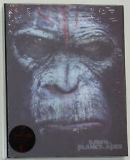 DAWN OF THE PLANET OF THE APES KIMCHIDVD LENTICULAR BLU-RAY STEELBOOK NEU & OVP