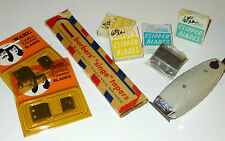 VINTAGE BARBER LOT ANDIS CLIPPER SINGE CANDLES NEW OLD STOCK REPLACEMENT BLADES
