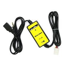 Coche Entrada Aux Adaptador USB Cable De Audio MP3 Player Para Toyota Camry