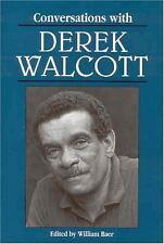 Conversations With Derek Walcott (Literary Conversations Series)-ExLibrary