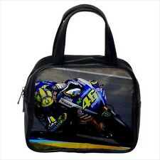 Valentino Rossi The Doctor Bike Leather Handbag Purse