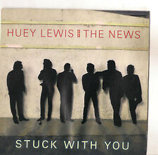 HUEY LEWIS AND THE NEWS - STUCK WITH YOU - SOLO COPERTINA - ONLY COVER - EX