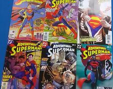 ADVENTURES OF SUPERMAN lot (19) issues from #424-#629 (1987-2006) DC Comics FINE