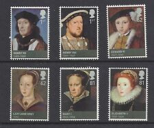 Great Britain 2009 Kings & Queens The House of Tudor Set of 6