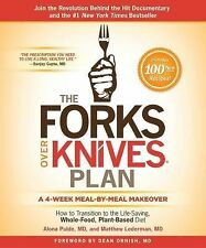 The Forks over Knives Plan by Alona Pulde MD Matthew Lederman Hardcover WT71819