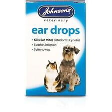 Johnsons Ear Drops Solution 15ml for Cats and Dogs ( x3 Packs 45ml )