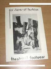 BIZARRE Postkarte John Willie Erotik Fetisch BDSM Bondage Boots Siefel Highheels